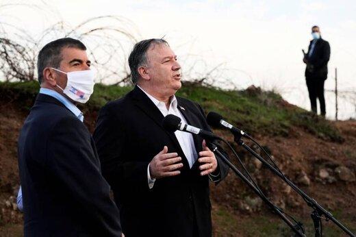 پمپئو: جولان همیشه متعلق به اسرائیل است
