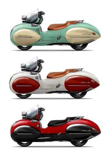 موتورسیکلت BMW با طرح وسپا معرفی شد