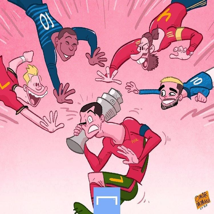 ببینید: خیز مدعیان برای گرفتن جام از رونالدو!