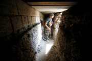 ببینید | تصاویری باورنکردنی از  تونلها و استحکامات پیشرفته داعش