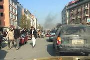 ببینید | تصاویری از لحظات دلهره آور حمله راکتی در کابل