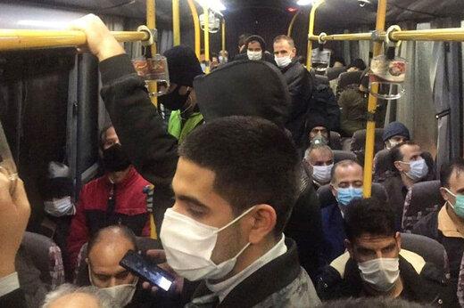 محرومیت یک ساله رانندگان اتوبوس در صورت سوار کردن مسافران کرونایی