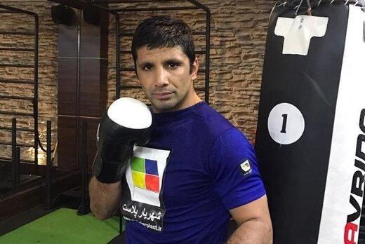 نماینده بلاروس برنده جدال سخت با الهامی در رینگ MMA/عکس