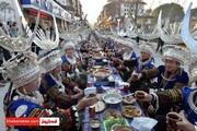عکس|جشن سال نو در چین بدون ترس از کرونا