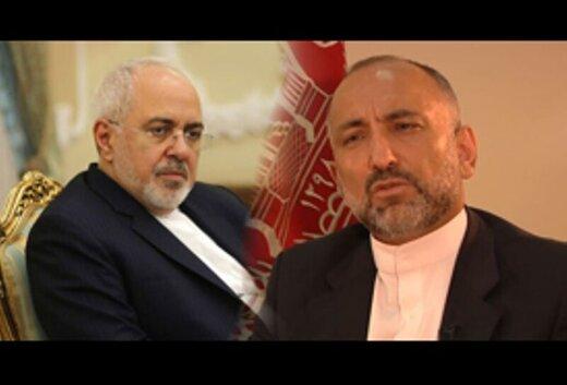 وزیرخارجه افغانستان از ظریف قدردانی کرد