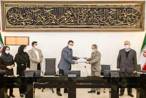 قرارداد طرح جامع کاهش تصادفات شهر قزوین مبادله شد