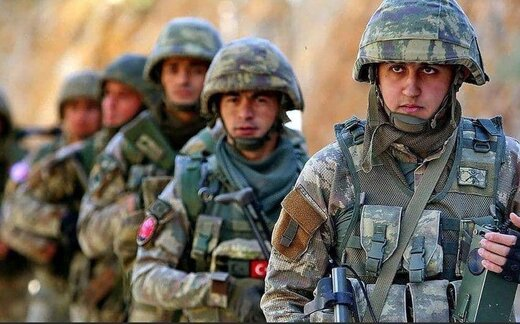 سربازان ترکیه در مناطق آزاد شده جمهوری آذربایجان میمانند