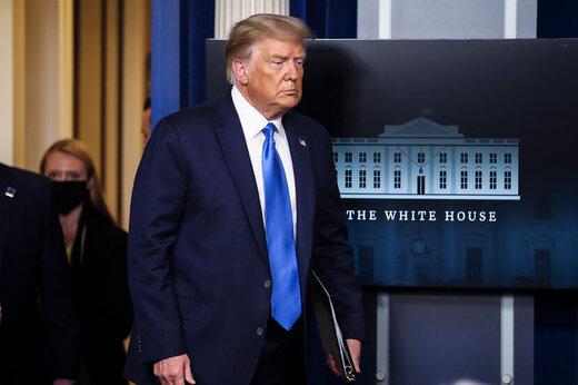 ببینید | بر خلاف شایعات ترامپ شکست را قبول نکرده: اگر حالا نشد چهار سال دیگر!