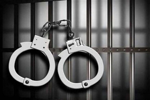ببینید | دستگیری شروری با ۳ قبضه اسلحه گرم و تراولهای تقلبی