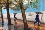 هشدار باران تند و تگرگ در استان تهران