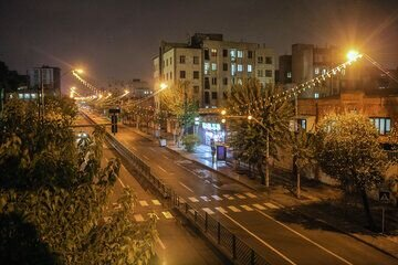 تهران پس از ساعت ۲۱