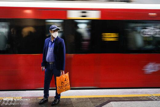 توضیح مدیرعامل شرکت بهرهبرداری متروی تهران درباره تصاویر شلوغی مترو