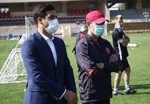 وعده پرداخت مطالبات به بازیکنان پرسپولیس قبل از سفر به قطر
