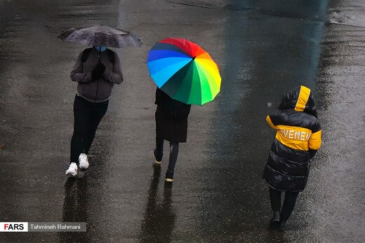 باران استمراری در پایتخت