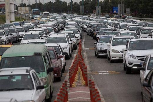 ببینید | واکنش جالب رئیس پلیس راهور تهران به ترافیک سنگین شهر
