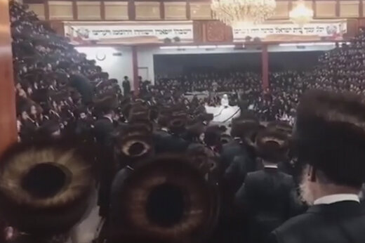 ببینید | انتقاد شدید فرماندار نیویورک از ویدئوی خبرساز مراسم عروسی نوه خاخام بزرگ یهودیان این شهر!