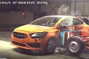 ببینید | ویدیوی جدید و جالب از تست تصادف خودروی «سایپا شاهین» همانند خودروسازان اروپایی