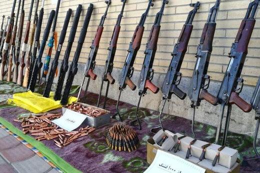 ببینید | کشف محموله بزرگ سلاح توسط سپاه در مناطق مرزی شمالغرب