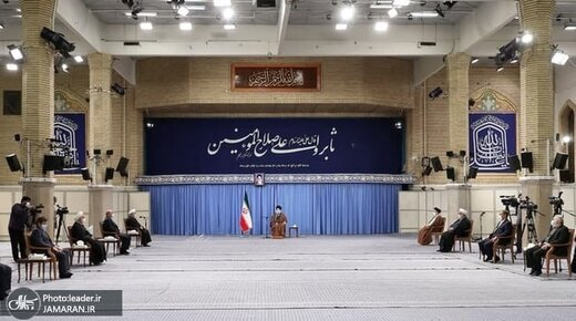 گزارش حسن روحانی به رهبر انقلاب