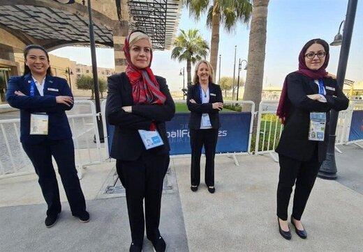 اولین حضور زنان پزشک ایرانی در مسابقات باشگاهی مردان