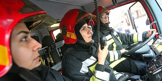 جذب ۱۶ آتشنشان زن تا پایان آذر در تهران
