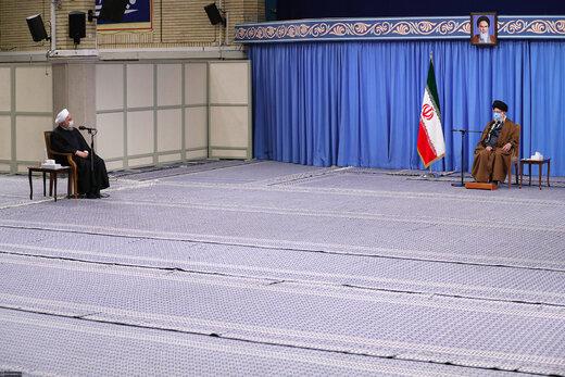 دیدار اعضای شورایعالی هماهنگی اقتصادی با رهبر معظم انقلاب اسلامی