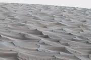 ببینید | تصویری واقعی و واضح از تپههای شنی مریخ