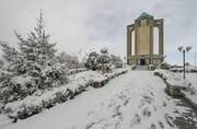 از فردا برف همدان را فرا می گیرد