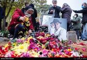 ببینید | تشییع و خاکسپاری پیکر زندهیاد کامبوزیا پرتوی