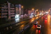 ببینید | تفاوت ترافیک خیابانهای تهران، قبل و بعد از ۹ شب
