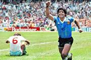 ببینید | معجزه مارادونا در زمین فوتبال