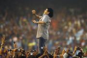 استوری فرهاد مجیدی برای مارادونا/عکس