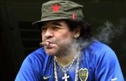 مارادونا؛ سقوط یک فرشته با گرد سفید