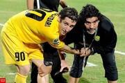 واکنش شاگرد ایرانی مارادونا به مرگ او
