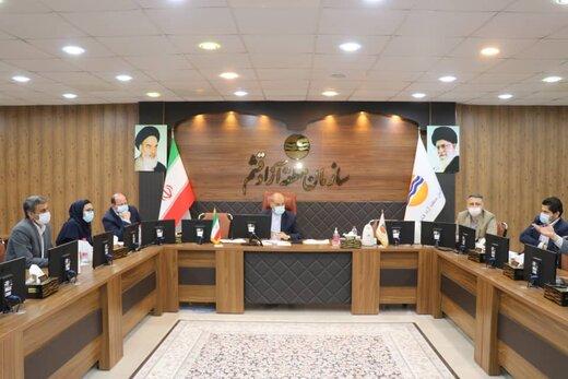 هشتمین نشست کمیته حفاظت از اراضی ملی و دولتی سازمان منطقه آزاد قشم برگزار شد