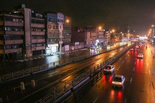 ببینید   تفاوت ترافیک خیابانهای تهران، قبل و بعد از ۹ شب