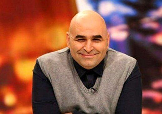 «علی مسعودی» درکنارپسرش/ عکس
