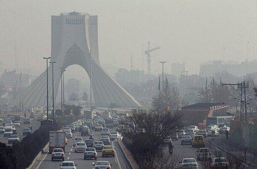 ادامه شرایط آلودگی هوا/تهران برای گروههای حساس آلوده است