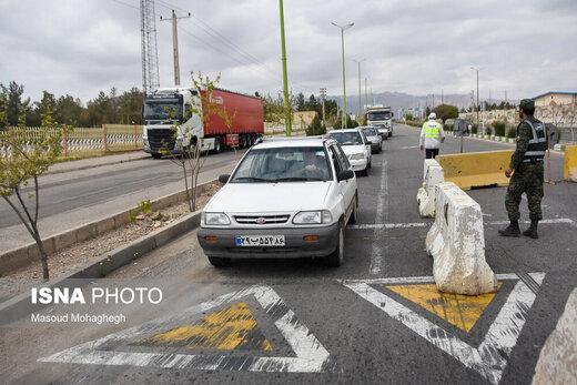افزایش محسوس تردد در جادههای کشور؛ برخی راهها بارانی است