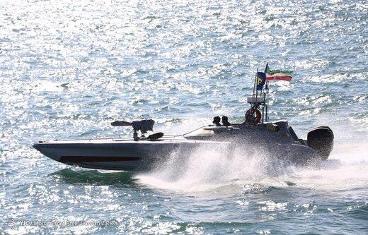 نمایش اقتدار دریایی سپاه - خلیج فارس