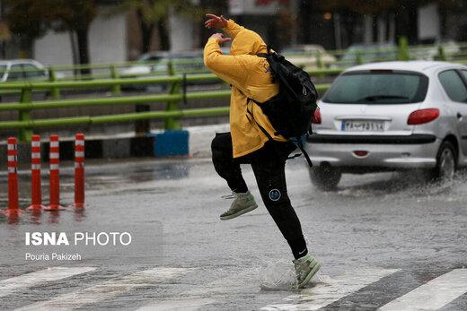 هشدار هواشناسی درباره بارشهای پایان هفته