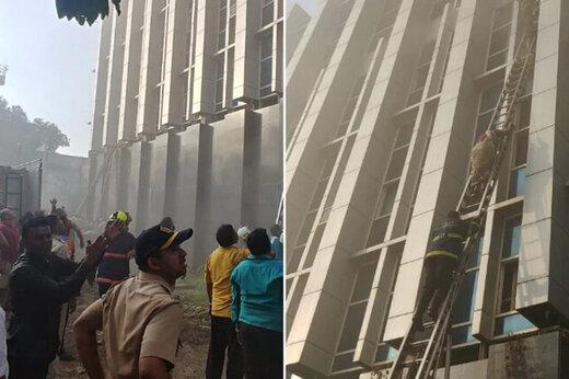 ببینید | آتشسوزی مرگبار و بسیار تلخ در بیمارستان
