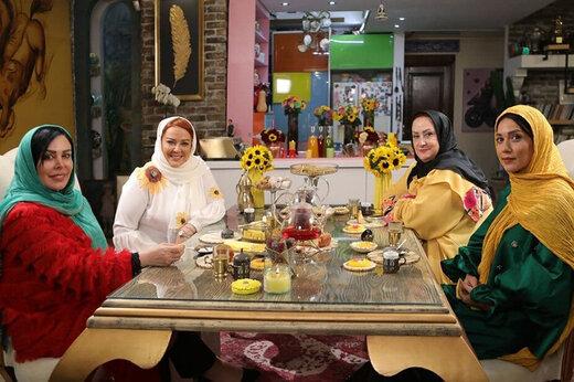 ببینید | درگیری لفظی مریم امیرجلالی و فلور نظری در برنامه شام ایرانی
