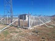 نصب تجهیزات بر روی دکل های مخابراتی شرکت برق منطقه ای سمنان