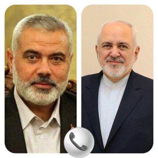 تماس هنیه با ظریف در پی ترور شهید فخریزاده