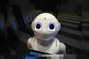 ببینید | رونمایی از ربات ژاپنی مسئول گشت ارشاد