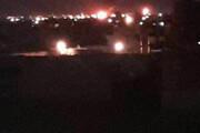 ببینید | تصاویر ویژه از حمله موشکی به یک پالایشگاه نفتی در عراق