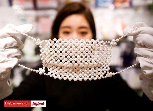 لاکچری ترین ماسک در چین!