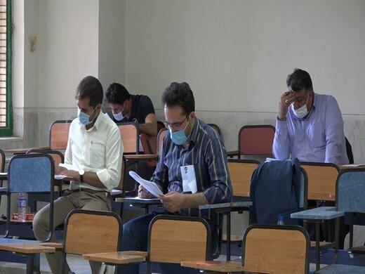 برگزاری آزمون نیروهای شرکتی بیمارستان شهید جلیل یاسوج
