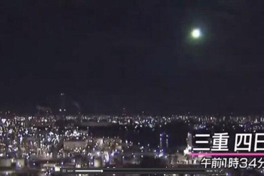 ببینید   شهابباران آسمان ژاپن را نورانی کرد